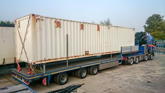 kraan 78 ton/meter met jib en hijshoogte tot 30 meter