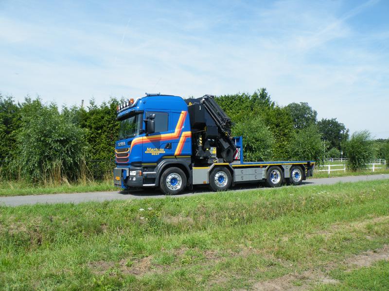 Kraan met jib 78 ton/meter